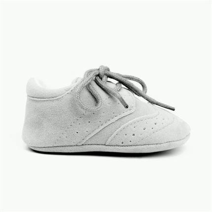 d465ea8e83993 Comprar zapatos bebe gris claro modelo inglés baratos