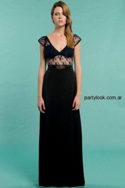 62aea0608 Falda larga negra con top negro Penny Love Primavera Verano 2015 Vestidos  invierno 2016