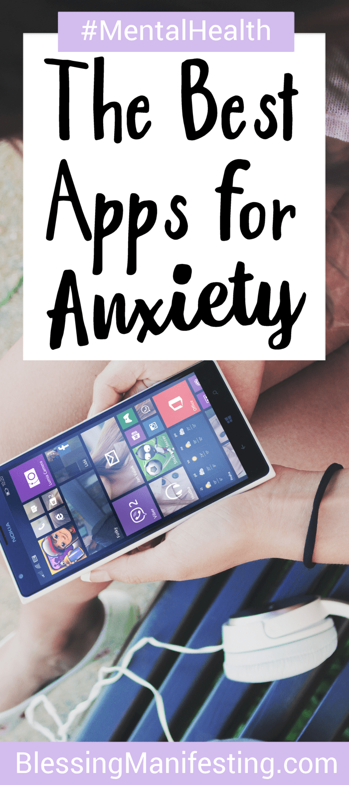 the best apps for anxiety | therapy + counseling | pinterest
