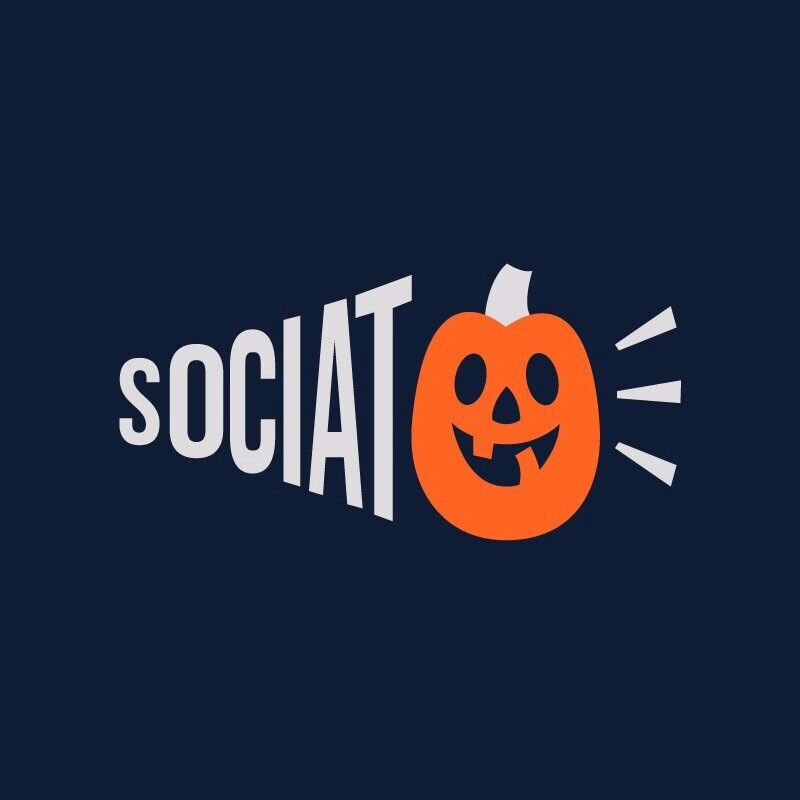 """#Halloween is heree!!  """"Why so serious?"""" GHOST SOCIATO wishes you a happpy and scary halloween.  Cant keep calm because its Sociato's 1st halloween!   #Sociato #HappyHalloween #TrickoTreat #Fun #Celebrations #SpookyHalloween"""