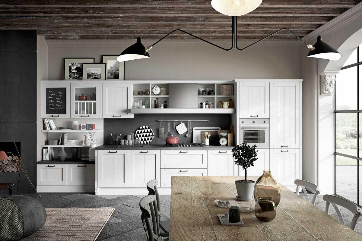 Cucine moderne componibili top lops filù progetto 6 mobili