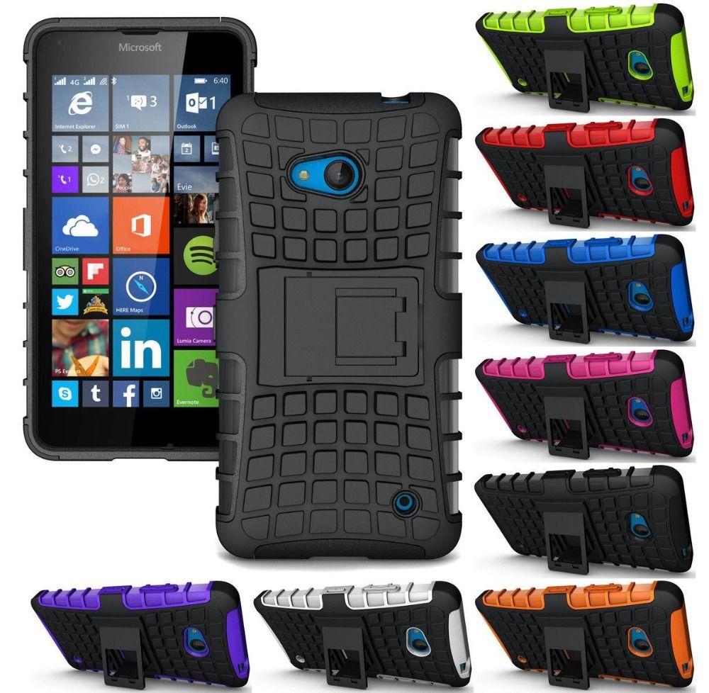 대한 nokia lumia 730 735 case 미끄럼 커버 충격 방지 갑옷 홀더 case 대한 microsoft lumia 435 532 535 550 730 735 case 커버