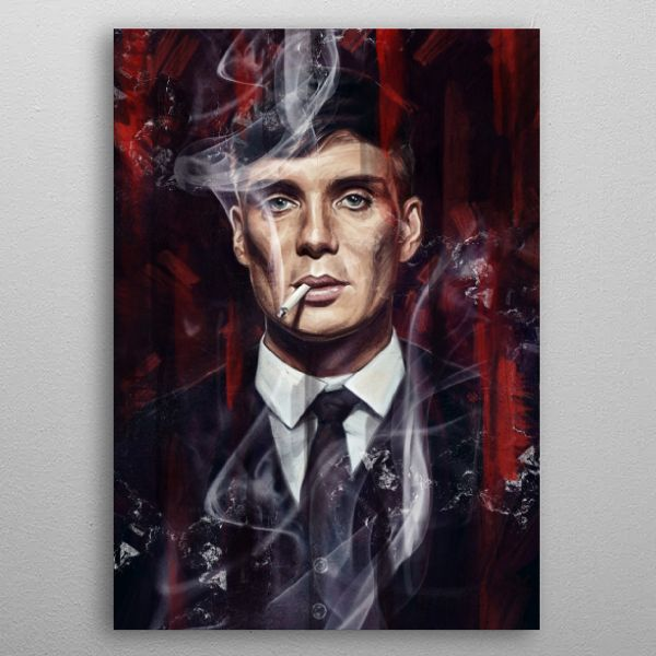 Tommy Shelby Vintage Posters Poster Print | metal posters - Displate | Displate thumbnail