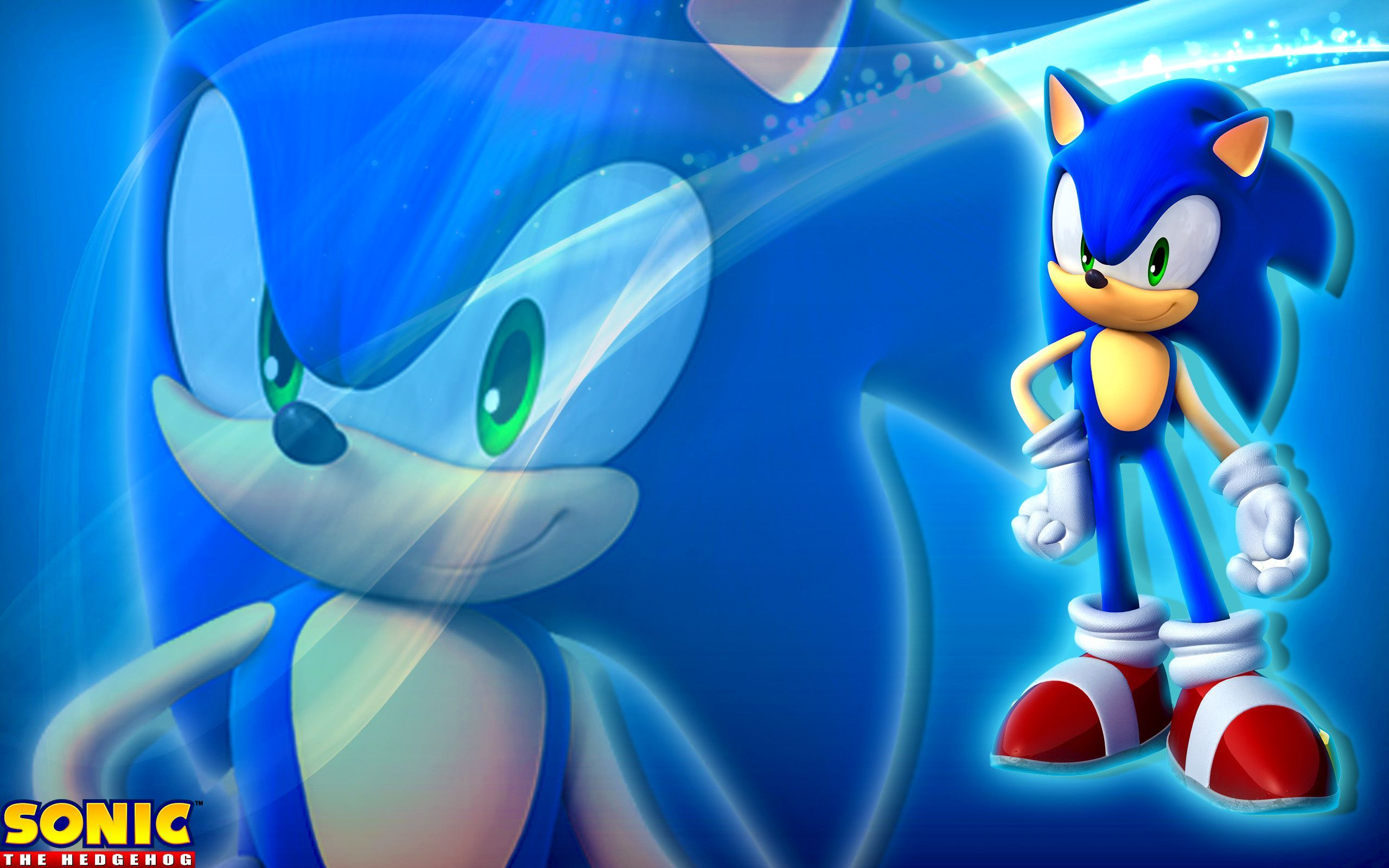 Sonic The Hedgehog Wallpaper Hd Background Wallpaper Sonic
