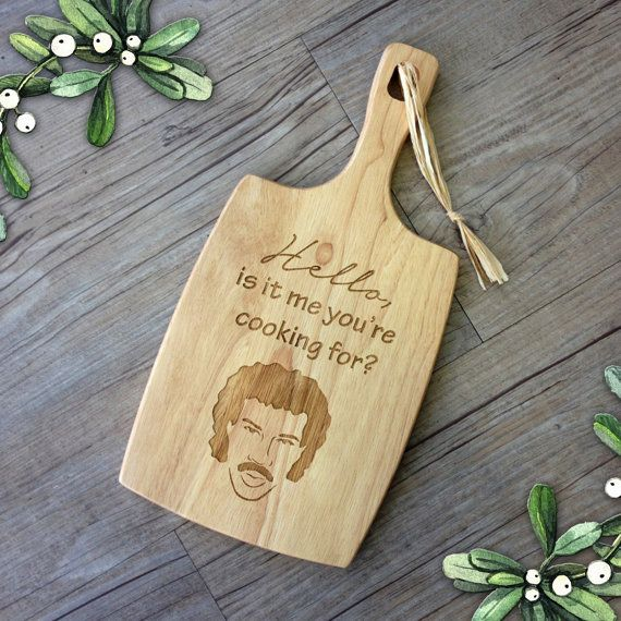 Engraved Lionel Richie Inspired Paddle by PersonalisedFavours