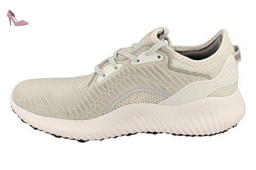 adidas Alphabounce Lux W, Chaussures de Course Femme, Gris (Gritra/Ftwbla/Balcri), 41 1/3
