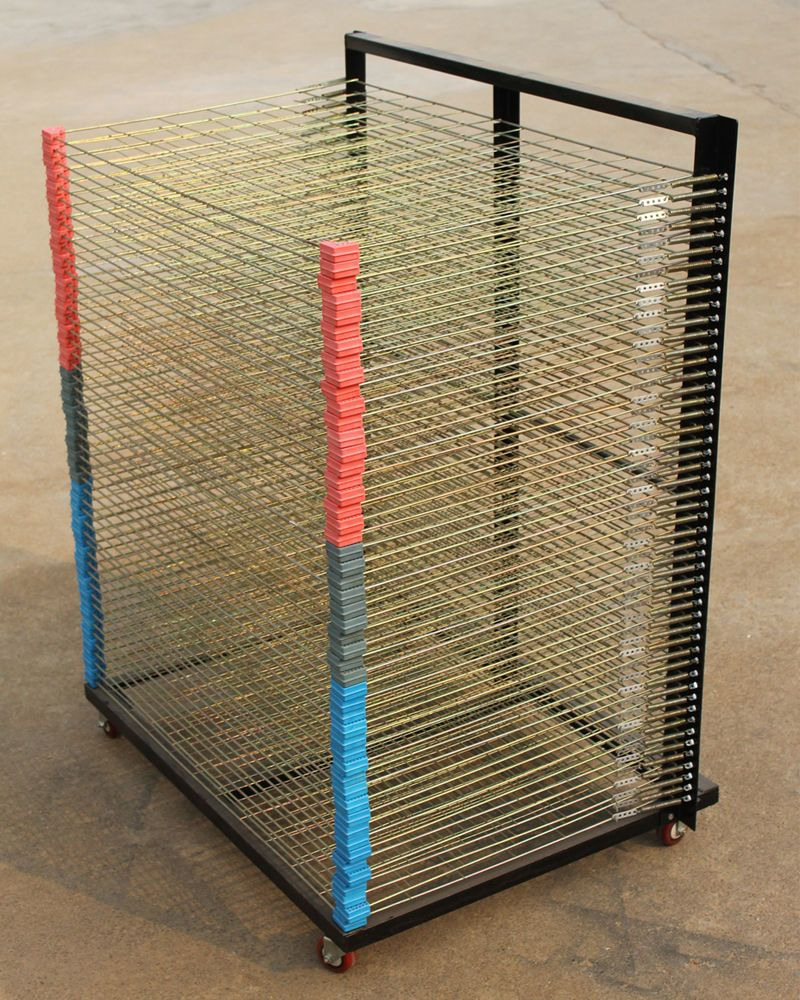 new screen drying rack screen printing