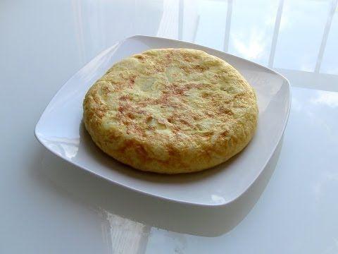Tortilla de patatas light youtube dieta pinterest plato light side and nom nom - Bizcocho microondas isasaweis ...