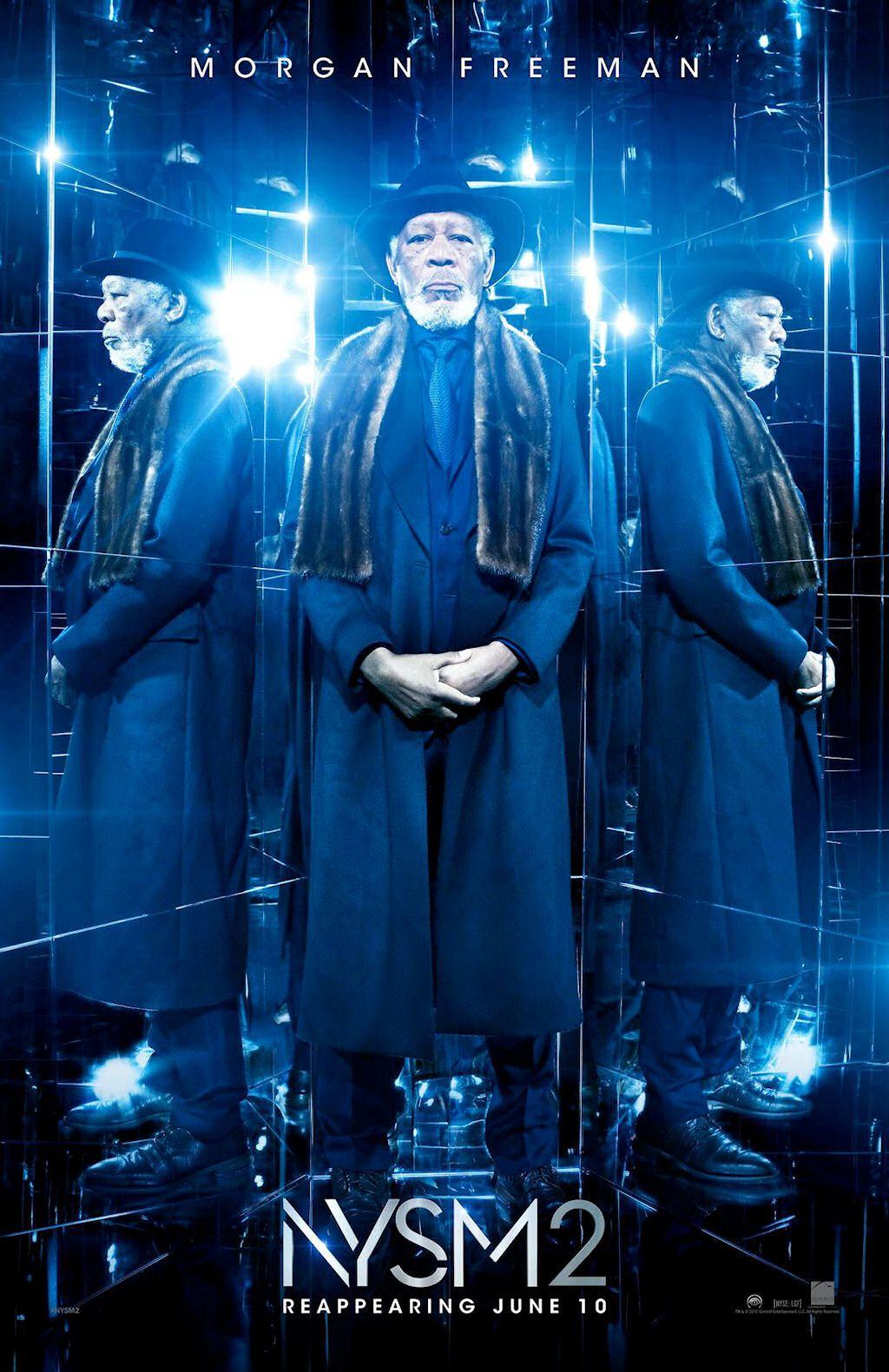NOW YOU SEE ME 2 movie poster No.2 w/ Morgan Freeman