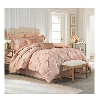rose gold comforter set Rose Gold Bedding Collection by Vince Camuto® I bought this  rose gold comforter set