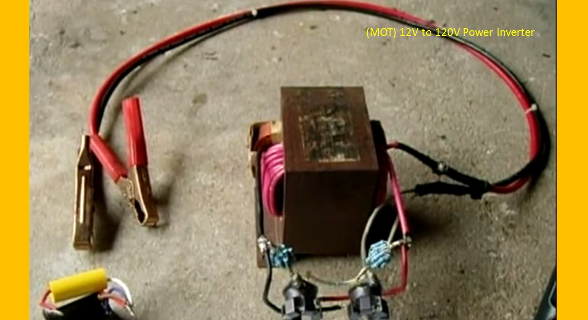 video  turn this old microwave oven transformer into a