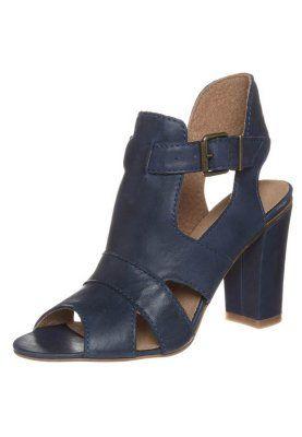 High Heel Sandalette - blue boy