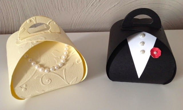 Paula Crafting Wedding Treat Bo Caixinha Para Casamentos