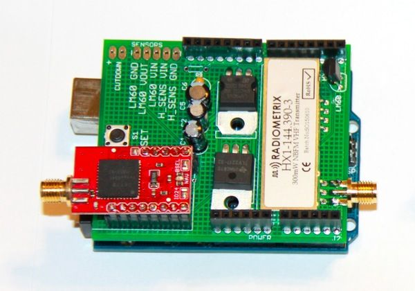 Trackuino An Arduino APRS tracker | APRS | Arduino, Arduino board