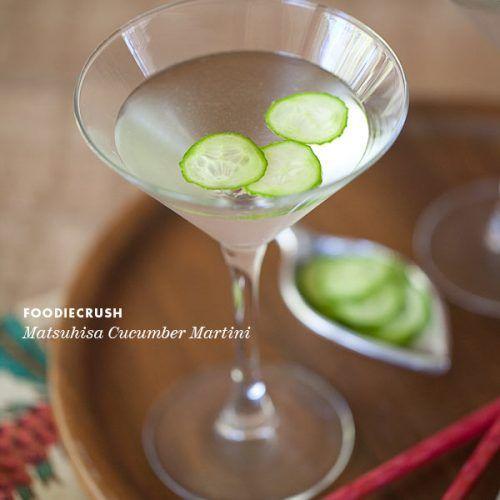 Friday Faves And Matsuhisa Cucumber Martini Recipe