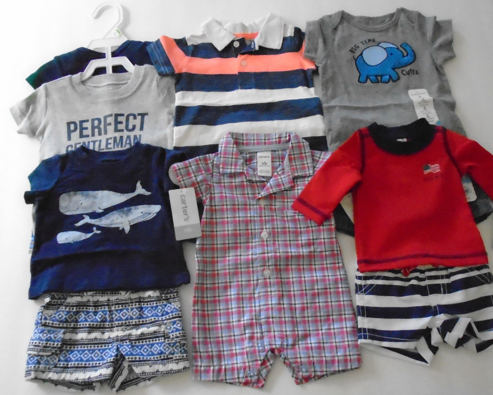 Mixed Items and Lots New 12 Pc Lot Newborn Baby Boy