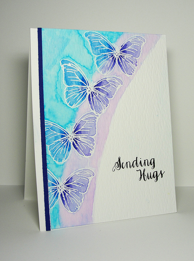 ...Enjoying Life...: More Stretch Your Stamp 2 Cards