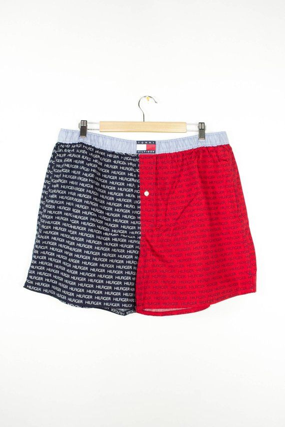 e8b79be49916 vintage tommy hilfiger boxer shorts - boxers - deadstock - new without tags  - flag logo - mens size
