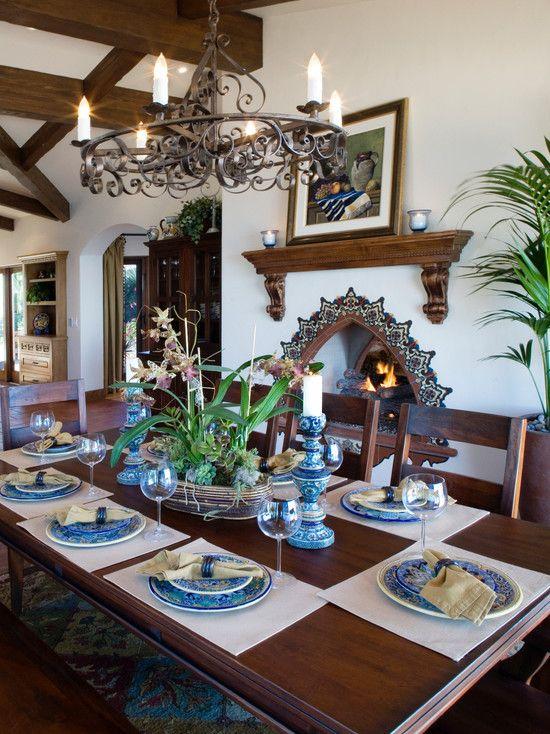 Hierro madera porcelana y buen gusto al estilo de for Decoracion colonial mexicana
