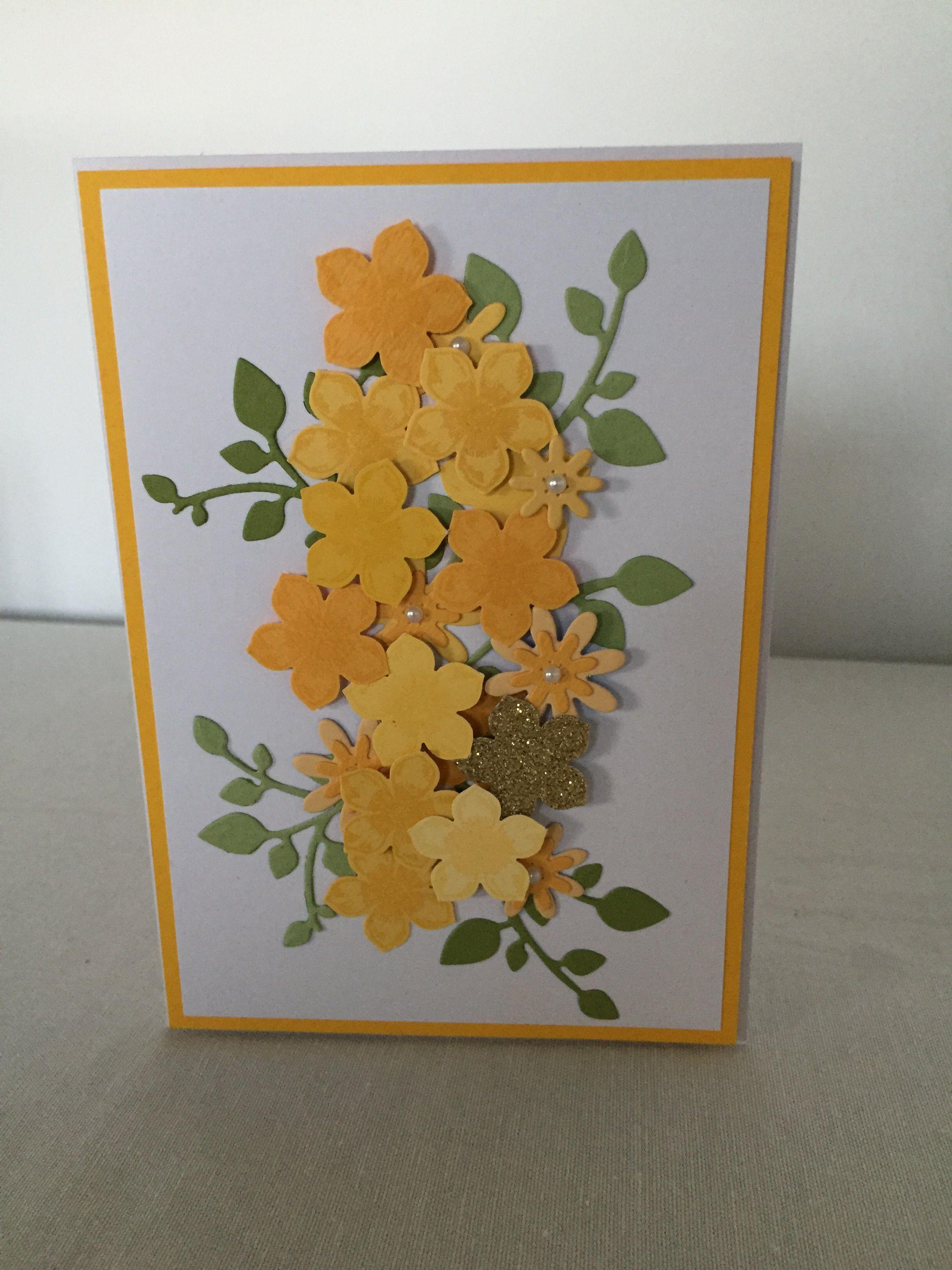Flowers homemade cards cards homemade