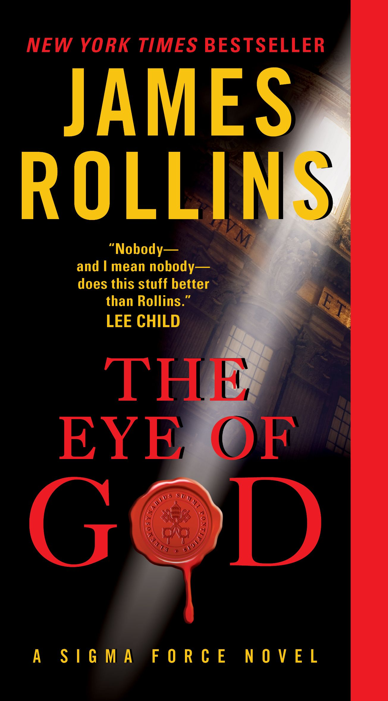 The Eye of God: A Sigma Force Novel (Paperback). Read the story description  here: