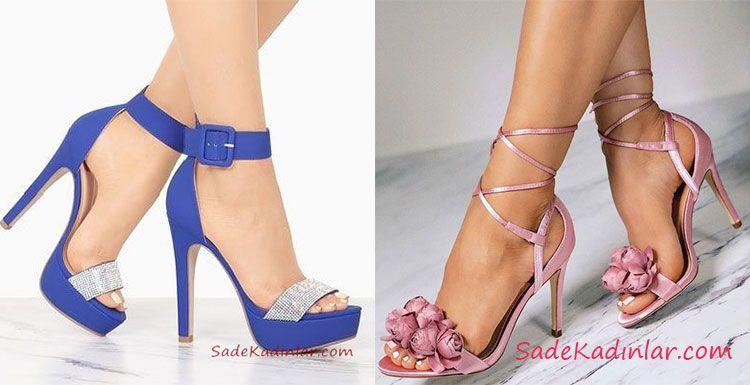 147898aa9bfa2 Şıklığın Sembolu 2019 Yazlık Topuklu Ayakkabı Modelleri | ayakkabı ...