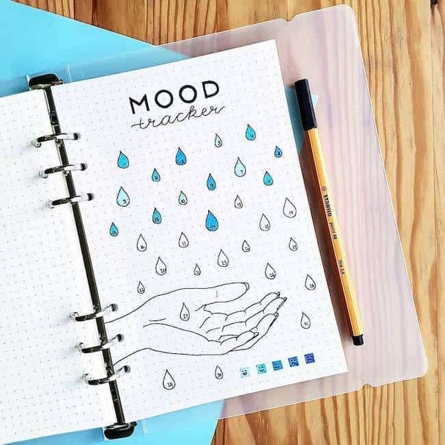 37 Fun Bullet Journal Mood Trackers That Will Make You Feel Better