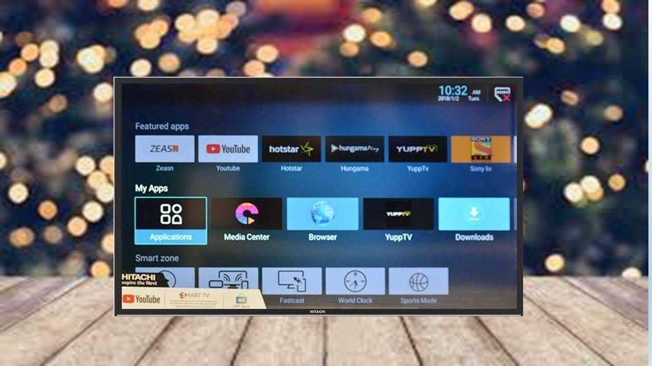 Hitachi 43 inch ld43hts06f full hd smart led tv led