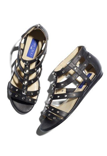 b1a24ae65d5f The shoes - new gladiator flats - Jimmy Choo for H M... and it s not ...