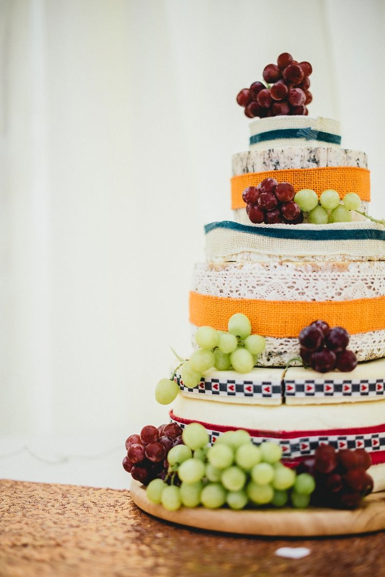 All Things Big Bright & Beautiful Multicolour Wedding | Cheese cakes ...
