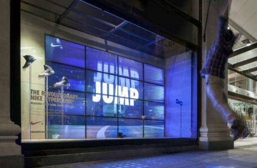 When Nike and Selfridges of London wanted to turn their store windows  interactive, they looked to Kinect.