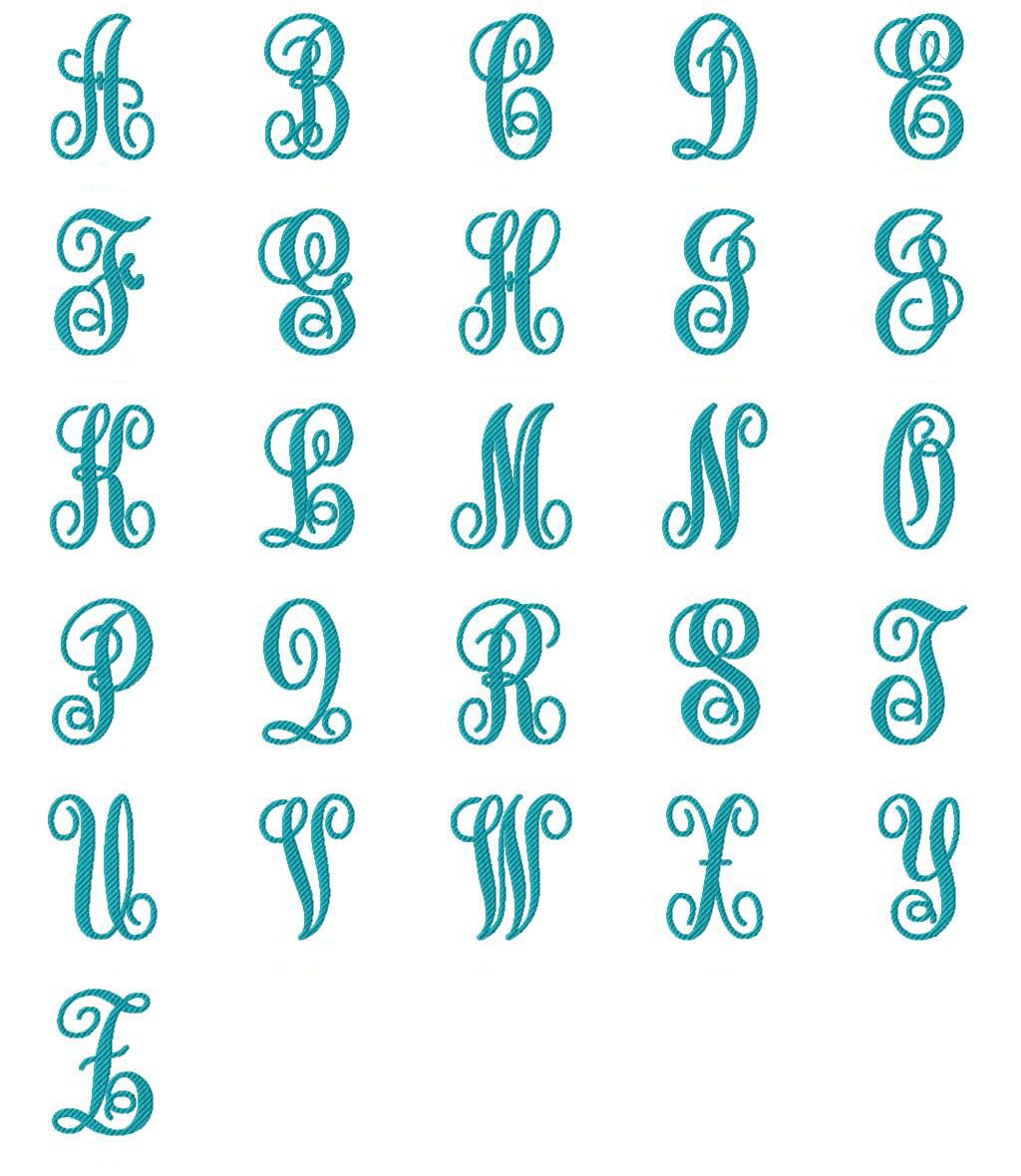 Striped Lexi Embroidery Font Embroidery fonts, Monogram