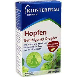Klosterfrau Hopfen natural sleeping/sedation aid-120 pills-