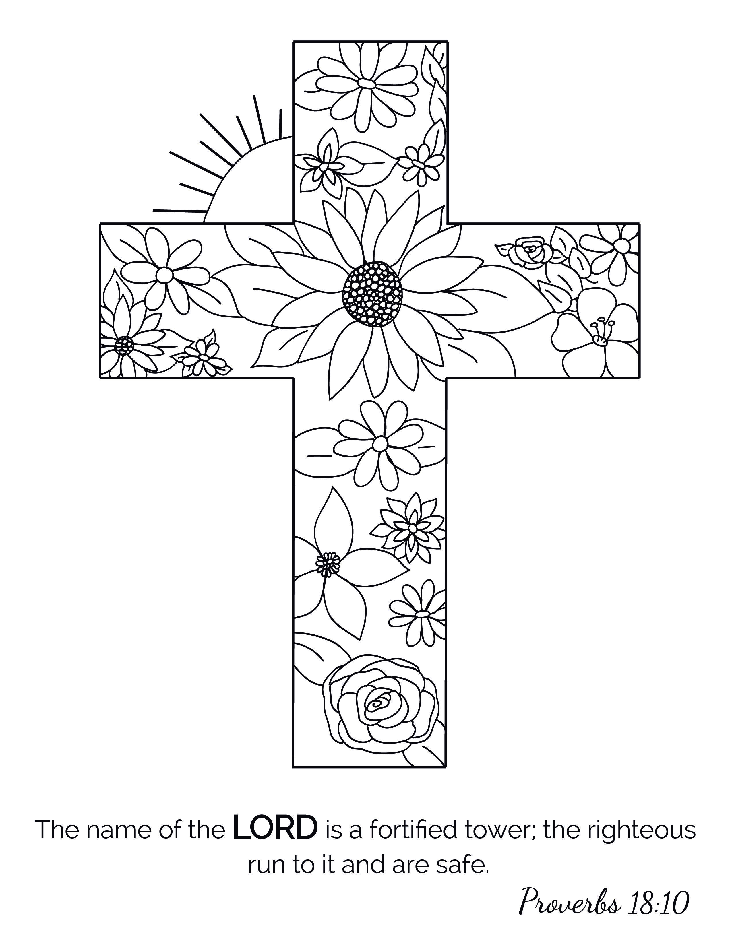 Christian Coloringforadults Coloringbook Coloringpages Coloring Adultcoloring Adultcoloringb Christian Coloring Bible Coloring Pages Cross Coloring Page