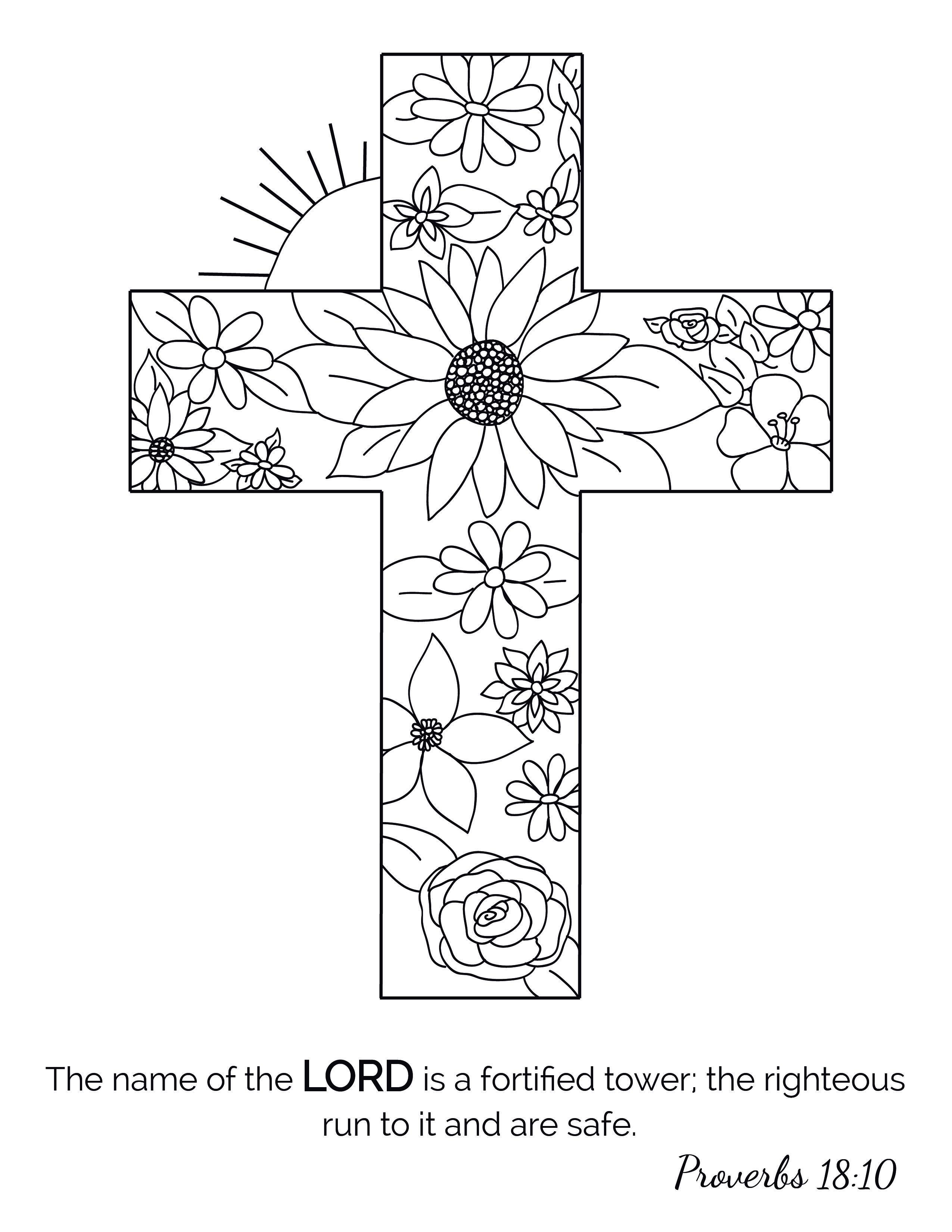 Christian Coloringforadults Coloringbook Coloringpages