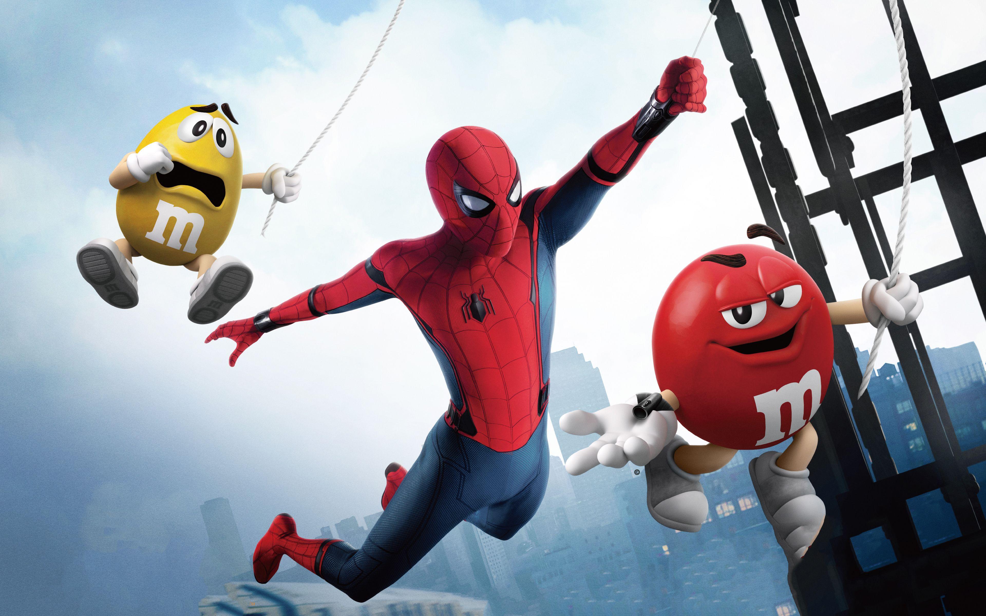 Downaload SpiderMan Candyman wallpaper