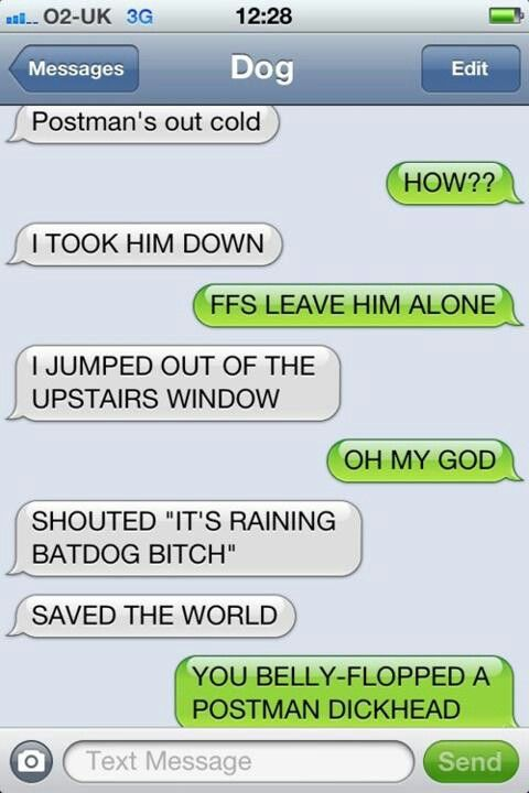 Postman With Images Funny Dog Texts Funny Text Fails Funny