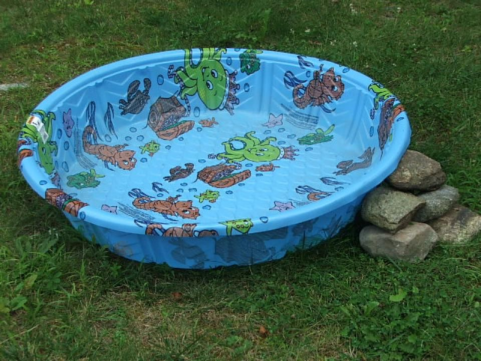 Plastic Garden Pool Make Family Atmosphere More Cheerful Kiddie