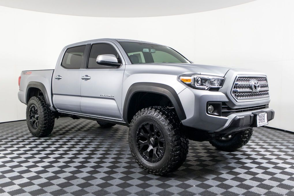 Used Lifted 2016 Toyota TRD Off Road 4x4 Truck For