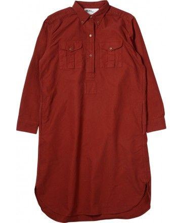 MARGARET HOWELL - MHL MILITARY SHIRT DRESS - DRESSES - WOMEN