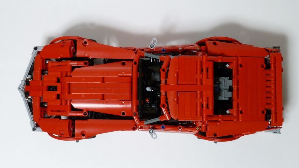 Madoca 1977 Moc Corvette C3 Stingray Lego Technic Mindstorms