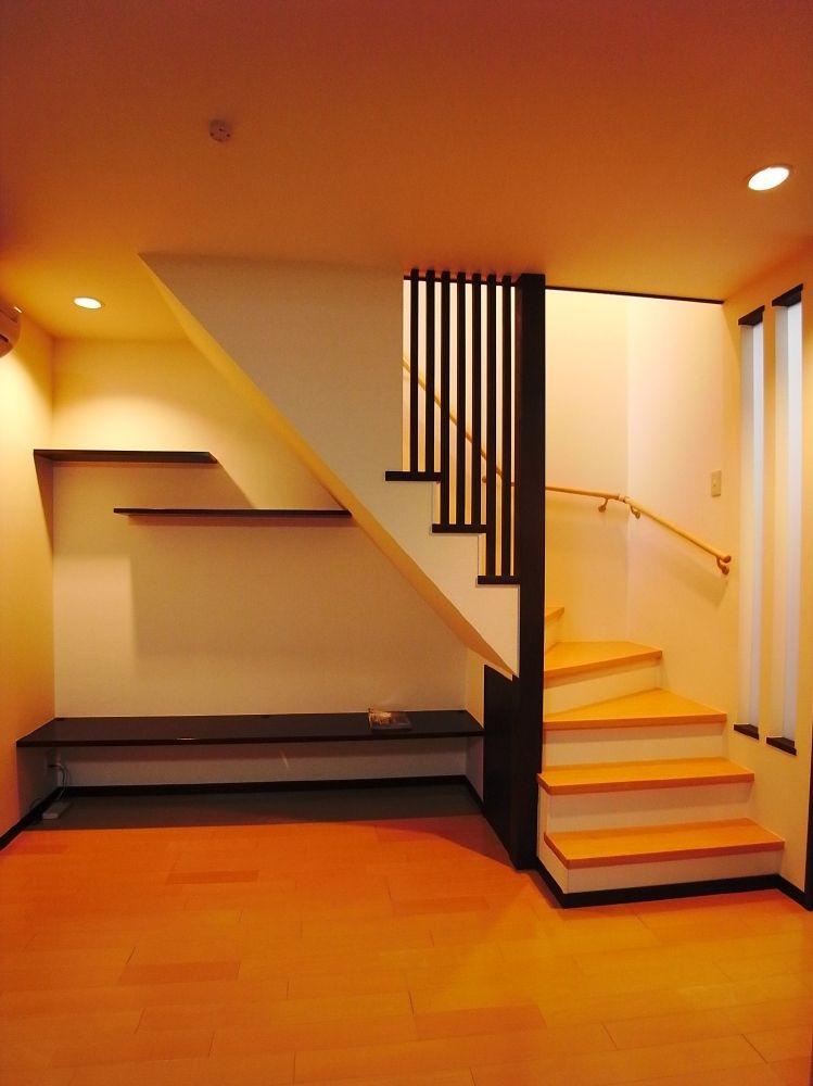 階段位置が大移動 バリアフリーな広々ldkに リフォーム施工実績