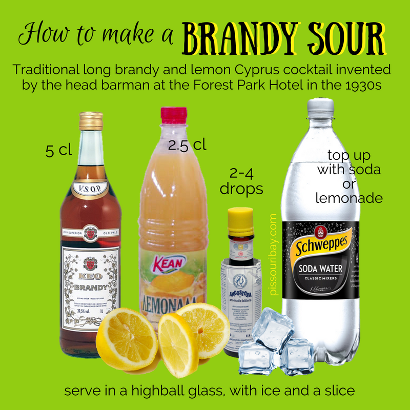 Fast Facts Sour foods, Cyprus, Sour cocktail