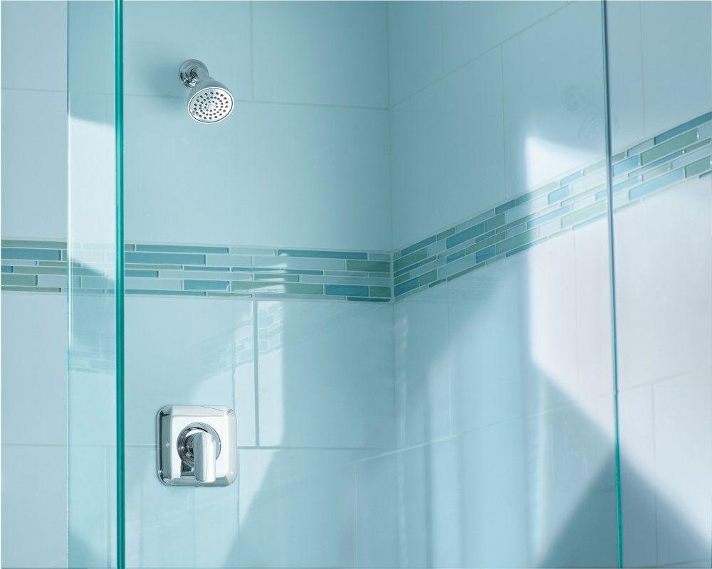 Rizon Chrome Posi-Temp® shower only -- T2812 -- Moen, designed by ...