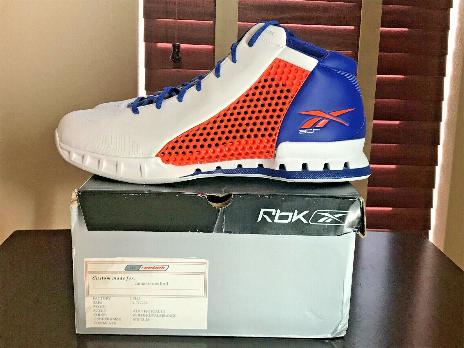 1a979f94fec Reebok ATR Vertical III PE PROMO SAMPLE made for Jamal Crawford sz 13.5 DS