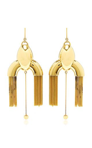 This fabulous statement piece by **Ellery** stuns with a bold and modern silhouette.