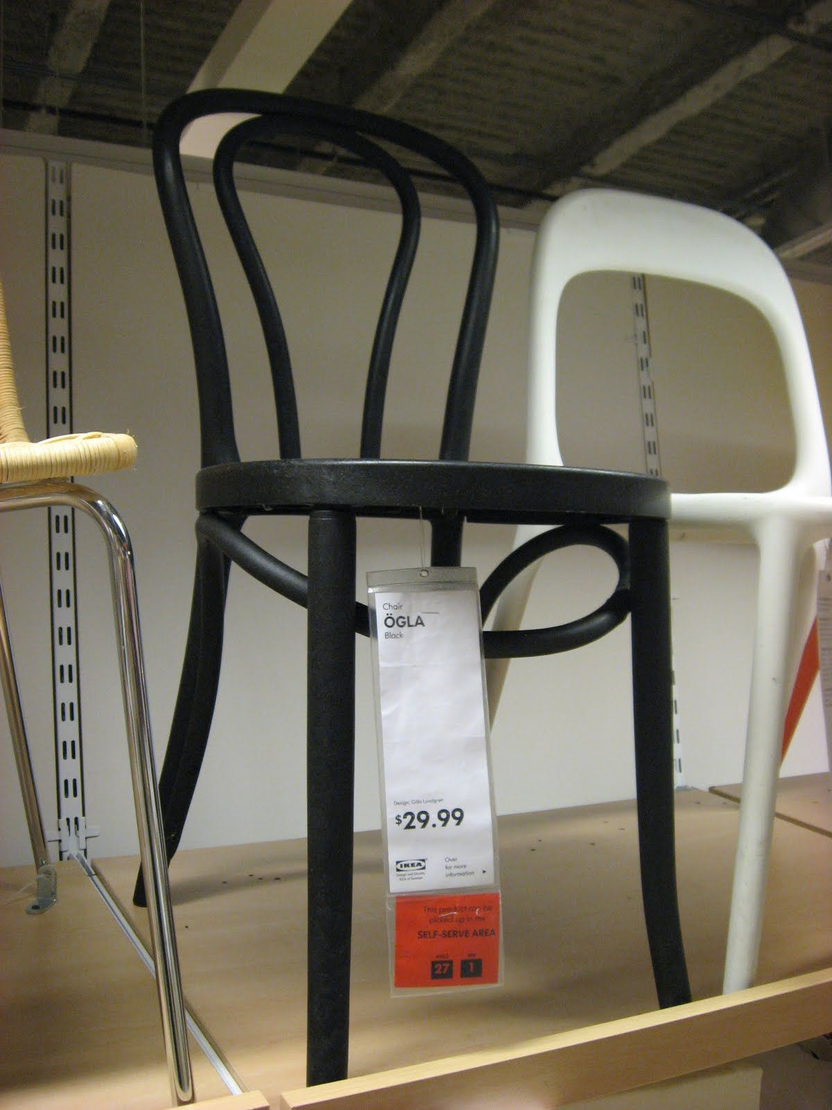 white modern chair ikea white plastic. Ikea\u0027s Thonet No.18. White Modern Chair Ikea Plastic L