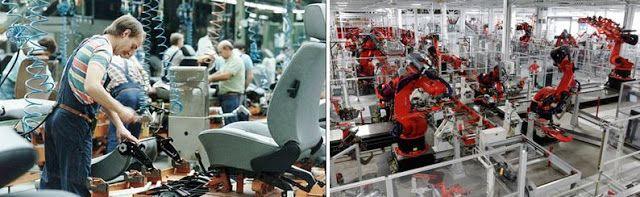 Mito & Realidade: Quando a máquina substituir totalmente o homem no trabalho, a solução será socializar os meios de produção e dar uma mensalidade a toda a gente