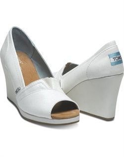 2024145a113 TOMS - Ivory Glitter Women s Wedge - Shoes