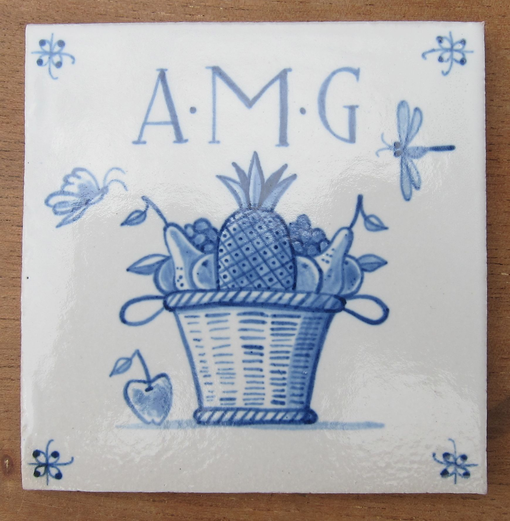 Stoneware delft tile huguenots of spitalfields memorial plaque stoneware delft tile huguenots of spitalfields memorial plaque anna maria garthwaite spitalfields market dailygadgetfo Image collections